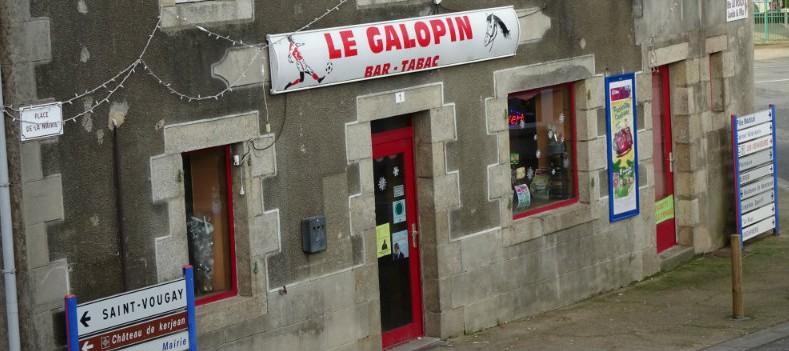 Le bar Le Galopin à Plouzévédé