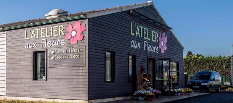 L'atelier aux fleurs à Plouzévédé