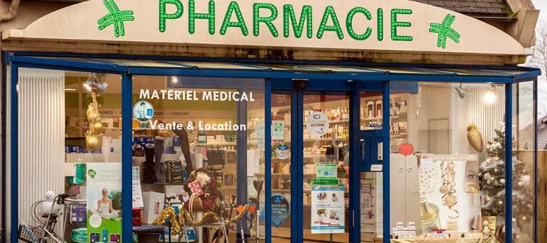 La pharmacie Vitel à Plouzévédé