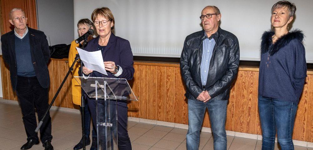 Les voeux en 2019 à Plouzévédé