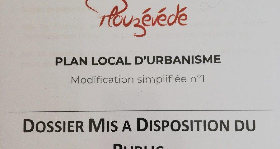 Modification du PLU à Plouzévédé